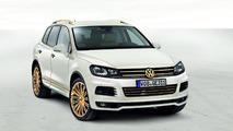 Volkswagen Touareg Gold Edition study 26.01.2011