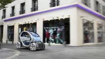 Renault Twizy Zero Emission Z.E. Concept [Video]