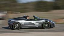 2010 TAG Heuer Tesla Roadster promo car 04.03.2010