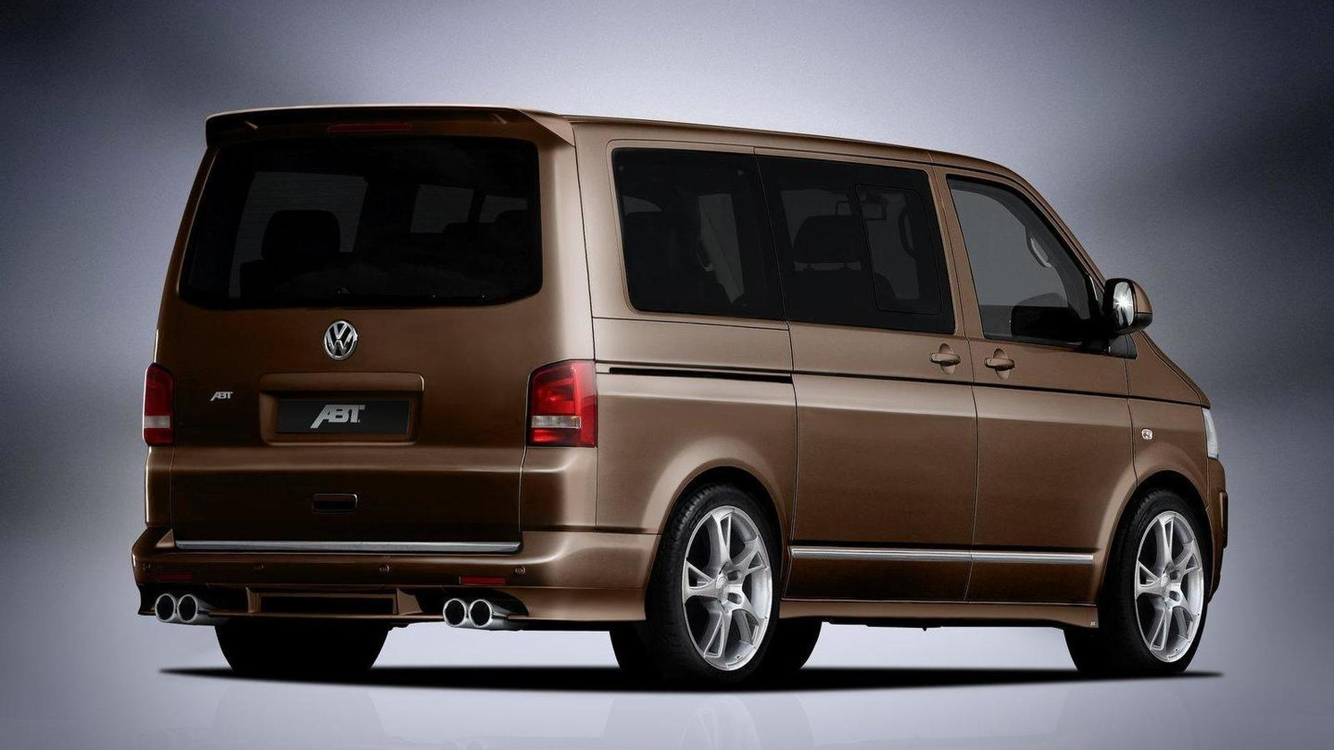 abt sportsline updates styling kit for vw t5 van facelift. Black Bedroom Furniture Sets. Home Design Ideas
