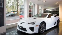 Lexus LF-A Receives High Demand in Europe