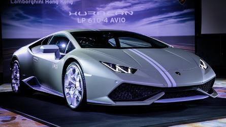 Lamborghini Huracan Avio launches in Hong Kong at HK$4.48M