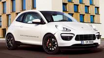 Porsche compact car imagined as Boxenne S