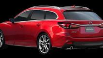 Mazda Atenza Wagon Mazda Design concept