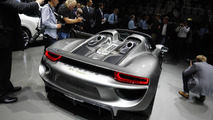 Porsche 918 Spyder production model live at 2013 Frankfurt Motor Show