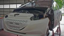 Low-emission Peugeot 208 Hybrid FE concept to have GTi-like performances