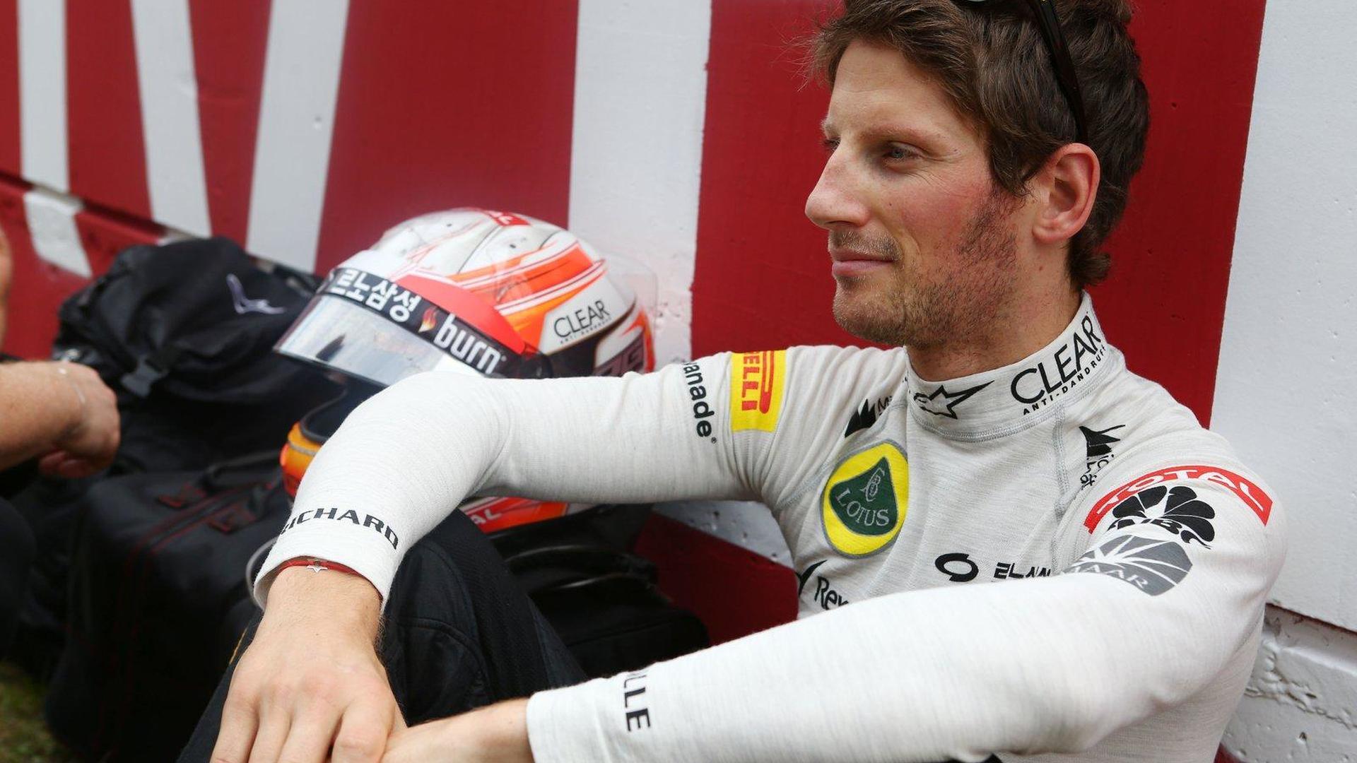 Lotus needs more staff - Grosjean