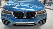 BMW X4 Concept at BMW Welt