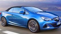 Opel Cascada OPC rendered