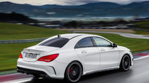 2014 Mercedes-Benz CLA 45 AMG leaked ahead of New York debut