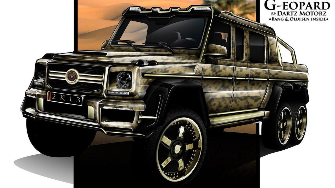 6x6 Mercedes-Benz G63 AMG Sahara G-eopard by Dartz