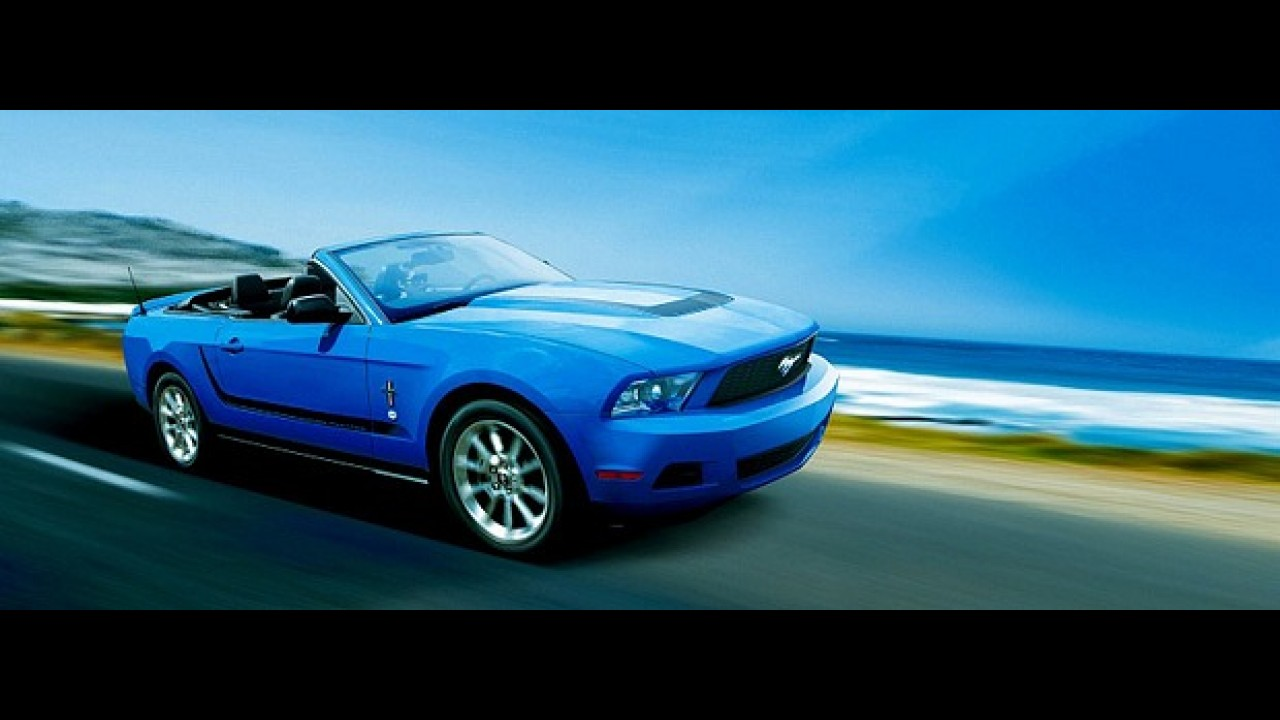 """Um Ford Mustang de """"olhos puxados""""?"""