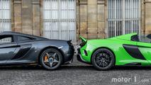 KVC - Deux McLaren à Paris