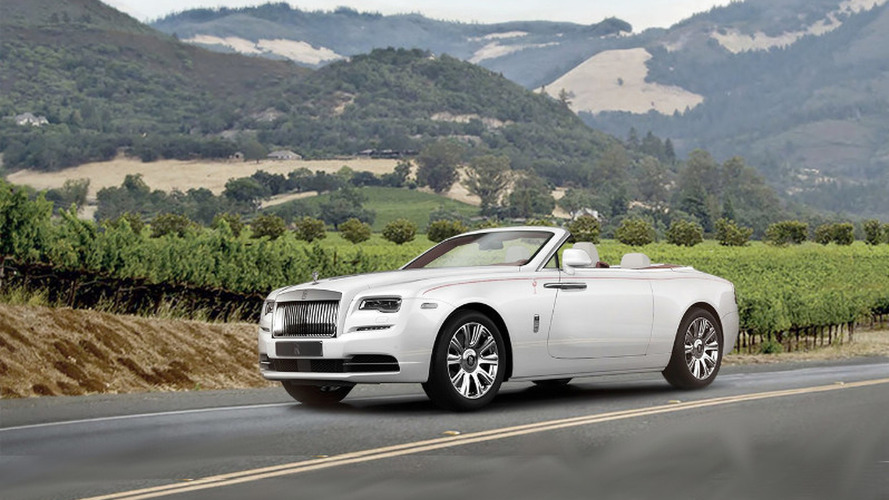 First North American-bound Rolls-Royce Dawn going up for auction