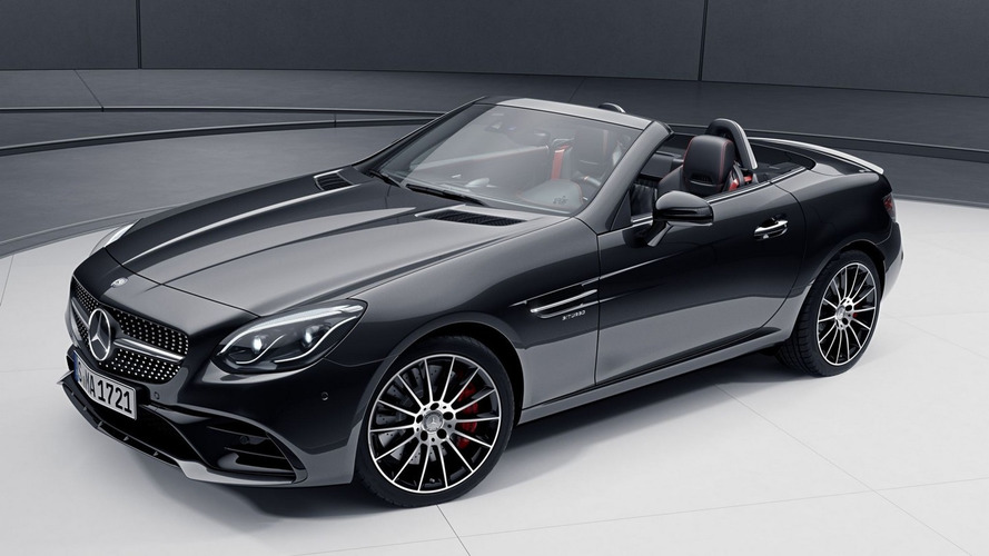 Mercedes SLC shows off optional Night Package