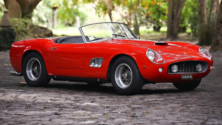 Ferrari 250 GT SWB California Spider could auction for $17M