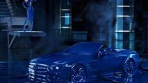 Mercedes-Benz SL in latex