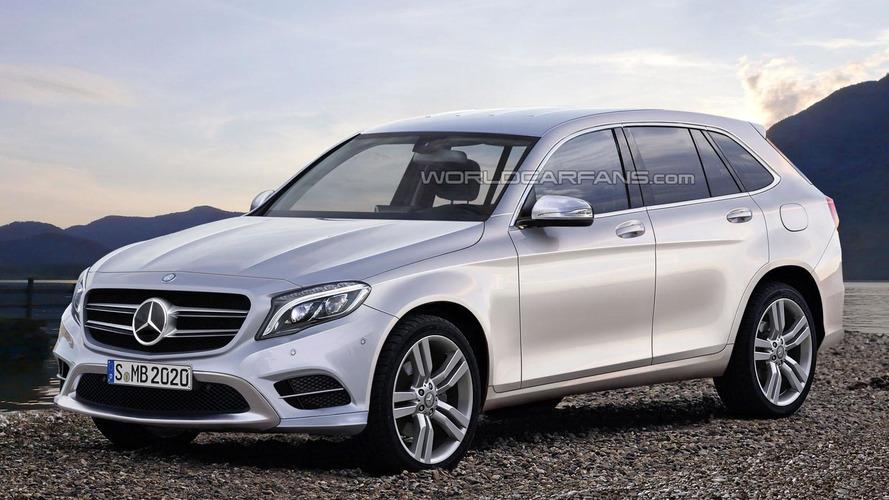 Mercedes GLC & GLC Coupe rendered