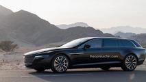Aston Martin Lagonda Shooting Brake render