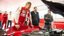 Sebastian Vettel takes the Ferrari FXX K out for a spin at Fiorano [video]