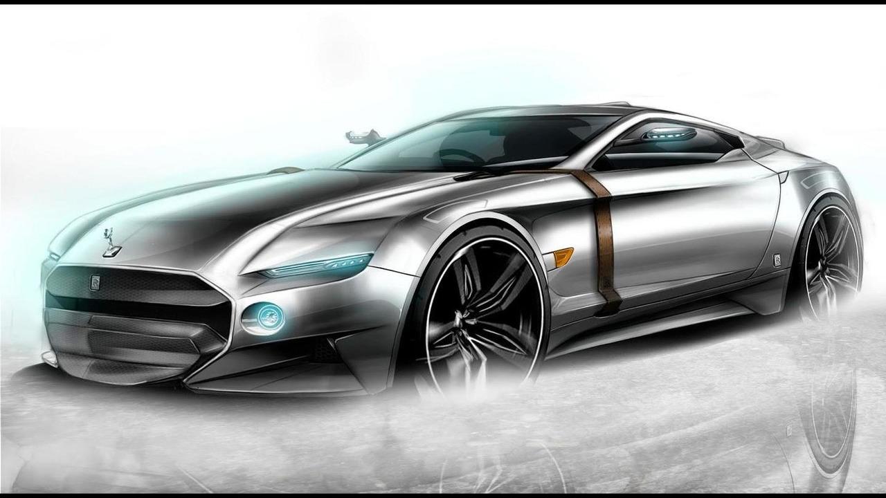 Rolls-Royce Phantasm rendering / Aldo Schurmann