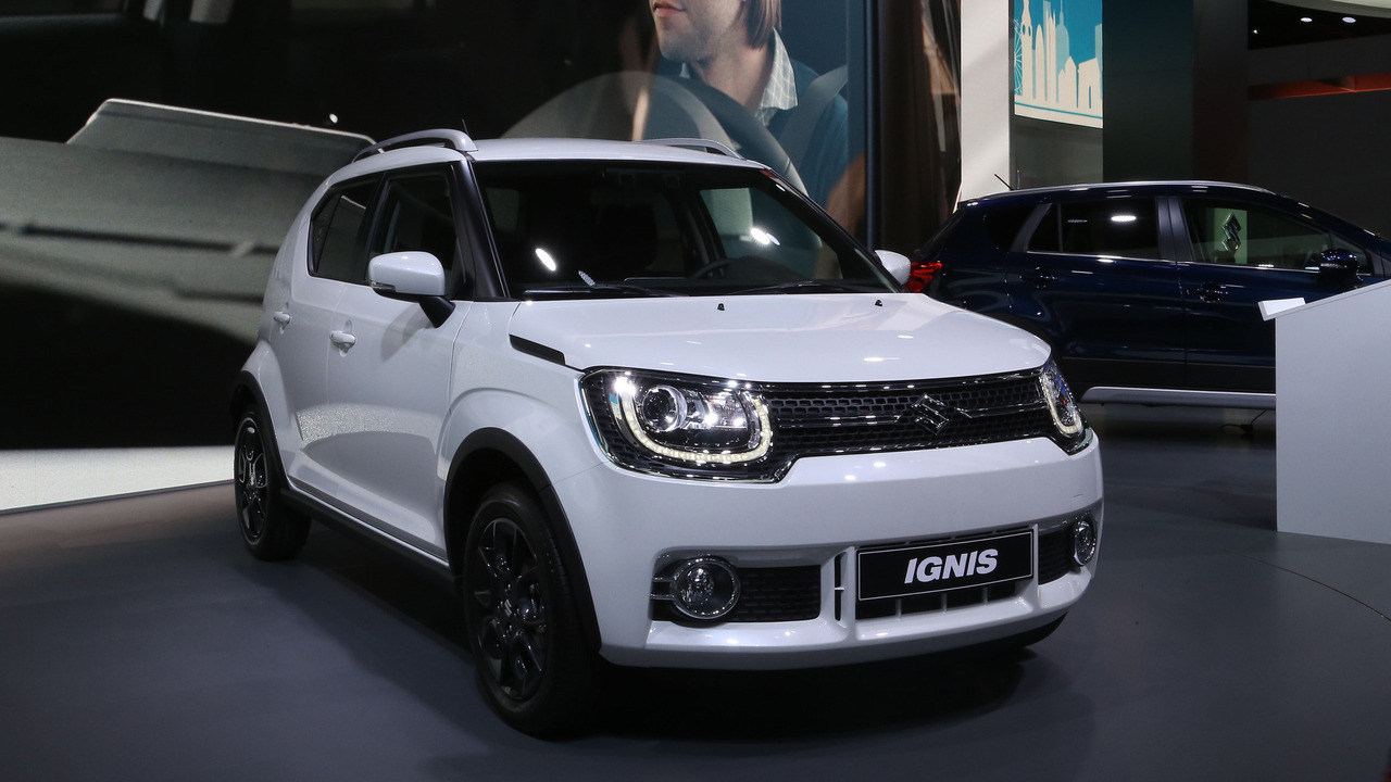 Beautiful Suzuki Ignis Is An Adorable Little Crossover In Paris