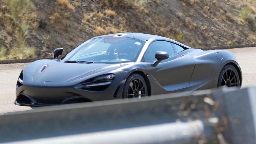 McLaren 650S successor spied undisguised