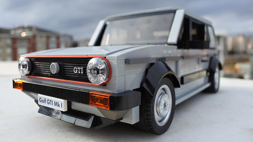 Lego Volkswagen Golf Mk1 GTI needs to happen