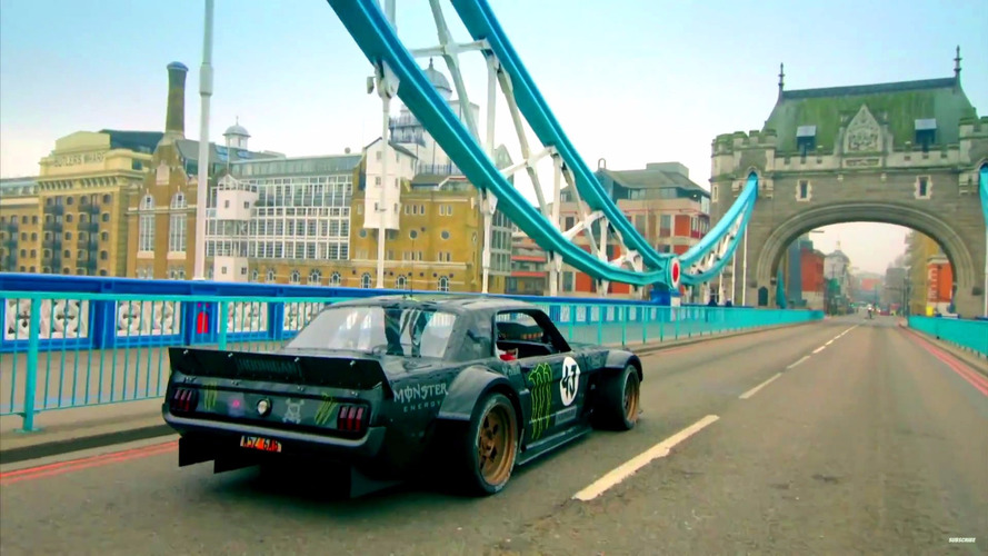 Watch the director's cut of Ken Block's London tour