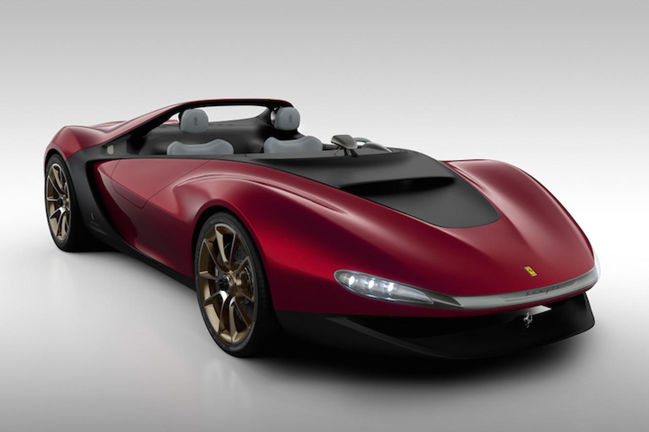 $3 Million Ferrari Sergio Roadster Already Sold Out