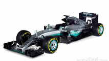 New Mercedes F1 car breaks cover