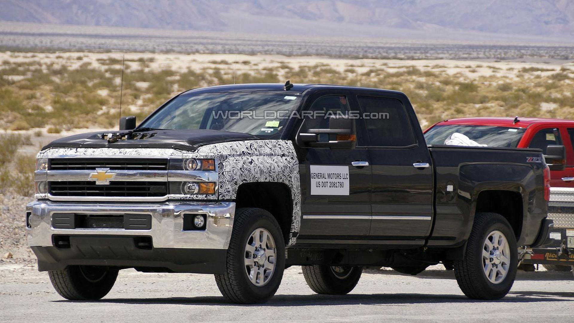 2016 Chevrolet Silverado facelift coming later this year