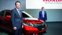 2015 Honda HR-V prototype at 2014 Paris Motor Show