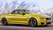 BMW M4 pick-up rendering / X Tomi