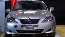 Lexus IS Euro NCAP Results