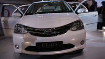Toyota Etios Concept sedan live at 2010 New Delhi Auto Expo - 1200 - 05.01.2010