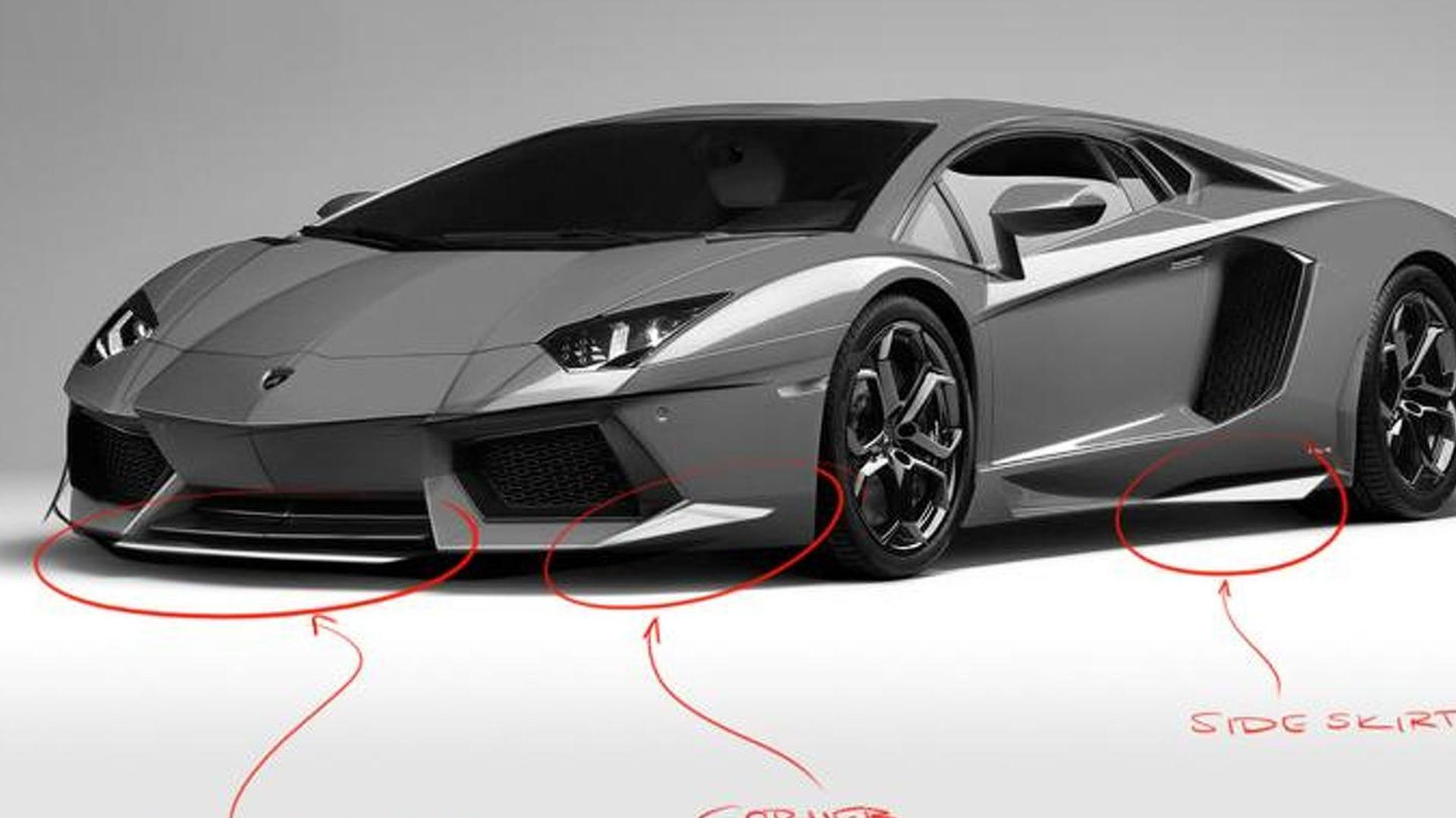 DMC Gargiulo previewed - based on the Lamborghini Aventador LP700-4