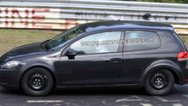 VW Test Mules Spied:  Golf VII and BlueSport Coupe?