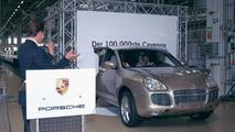 100,000th Porsche Cayenne rolls off production line