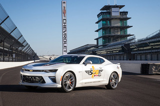 The 2017 Camaro SS is the New Indy 500 Pace Car