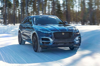 Jaguar Put Its F-Pace SUV to the Test in Extreme Weather Conditions