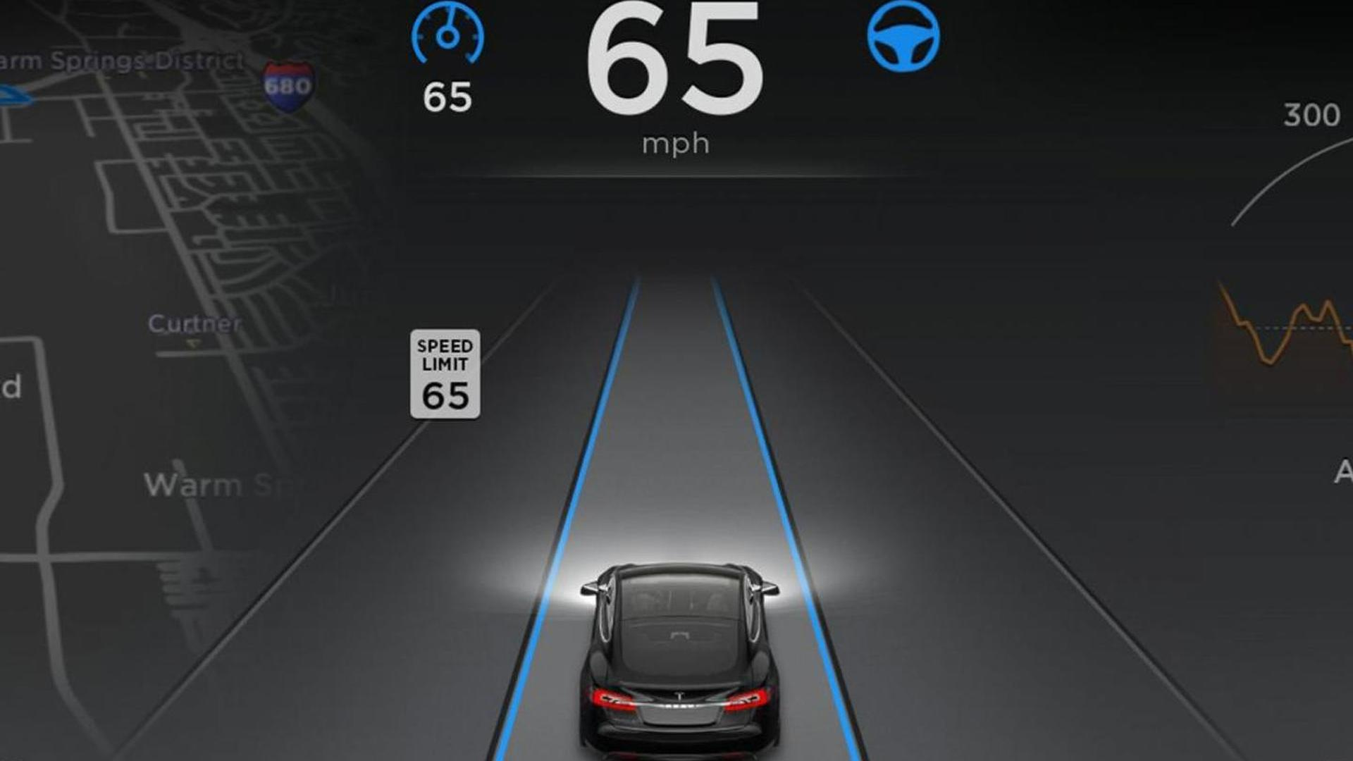 how to turn on autopilot in tesla model s