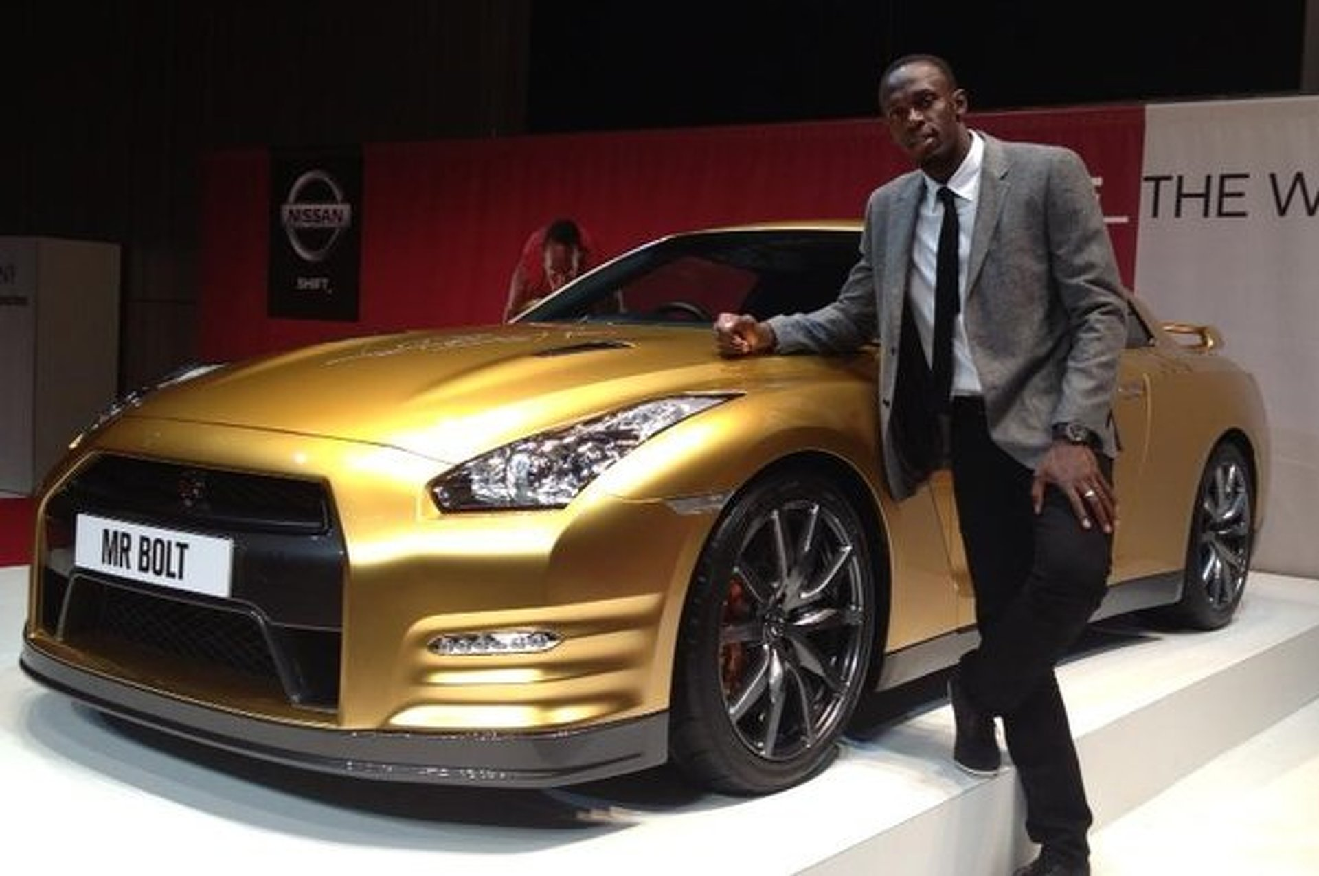 Nissan Crowns Usain Bolt