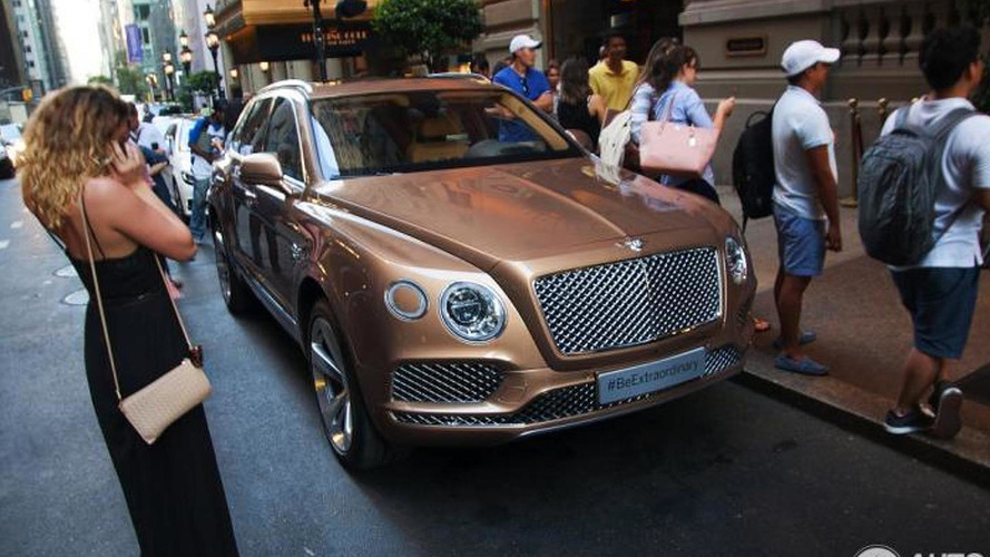 Bentley Bentayga photographed inside and out in New York