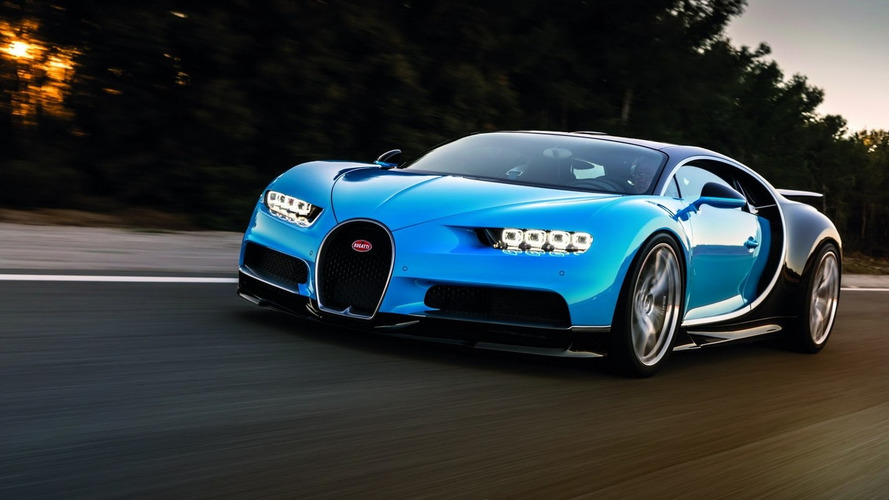 Bugatti Chiron can rip from 0-402-0 km/h in under a minute