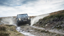12 Mercedes SUVs traversed U.K. without using public roads
