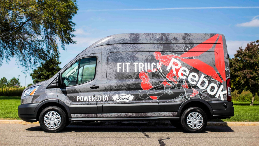 Ford wants to pump you up with the Transit FitTruck