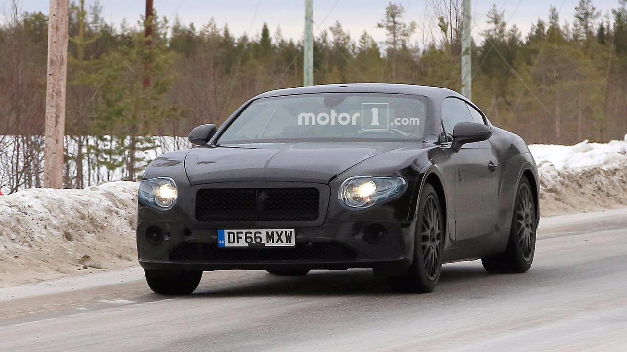 Bentley Continental GT Spy Pics