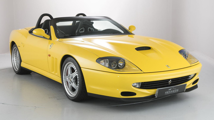Two rare, recent Ferrari droptops on sale at U.K. dealer