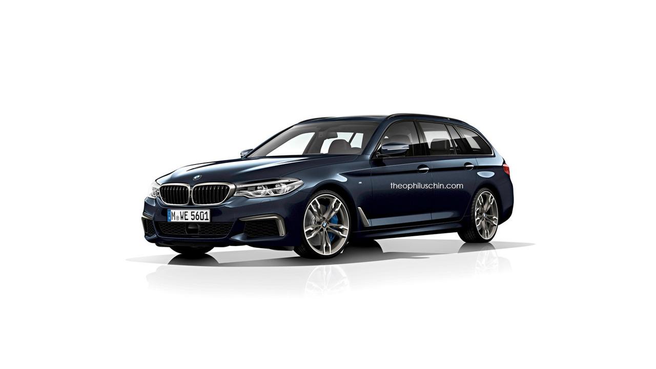 2017 BMW 5 Series Renderings